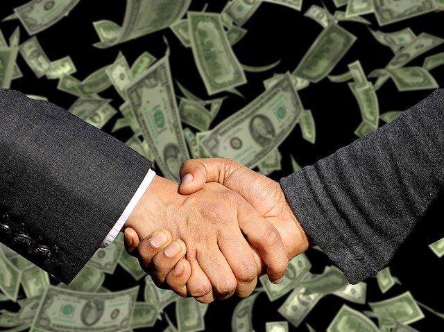 uzavření smlouvy o penězích