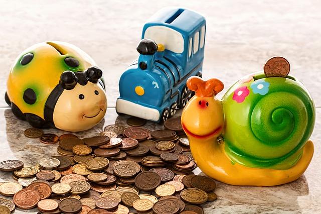 dětské pokladničky