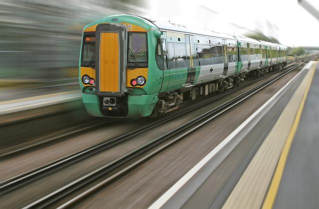 britský vlaky
