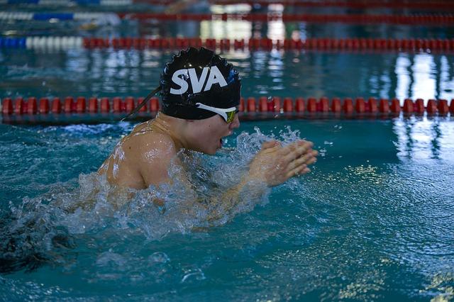 sportovní plavec