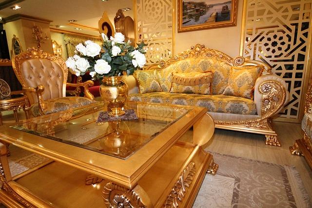 klasický turecký nábytek